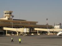 Pesawat Sipil Pertama Mendarat di Bandara Aleppo