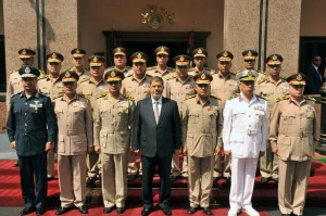 Egypt-military leaders