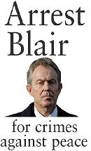arrest-blair-for-crimes-against-peace-banner-button