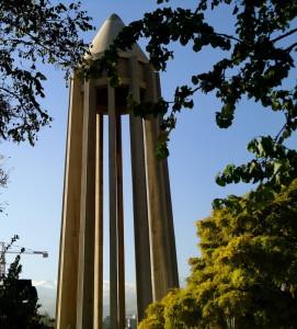 menara di museum Ibnu Sina (foto: Afifah Ahmad)