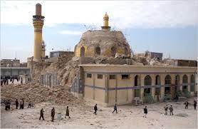 makam Imam Askari (Samarra) setelah dibom