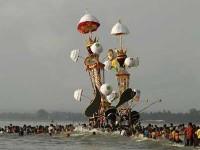 tradisi Hoyak Tabuik di Pariaman (foto:melayuonline)