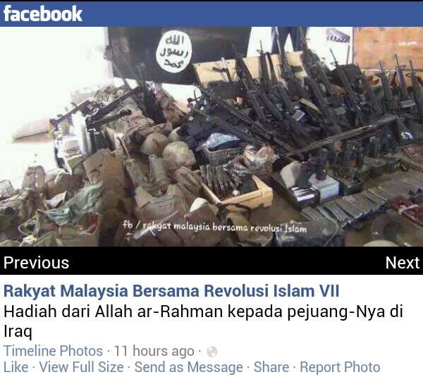 ISIS Senjata