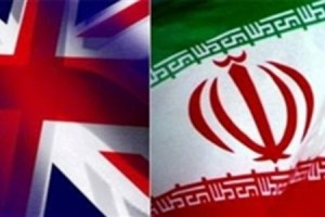 Iran_Britain_flags