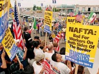 Rakyat Mexico Protes Kebijakan AS di Amerika Utara