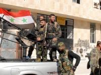 Tentara Suriah Lancarkan Serangan Intensif