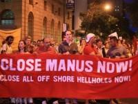 Warga Australia Gelar Aksi  Peringati Tewasnya Pengungsi Iran