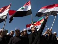 Warga Suriah Golan dan Yordania Demo Anti Israel-Amerika