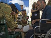 Pasukan TNI di Lebanon Buka Posko Kesehatan