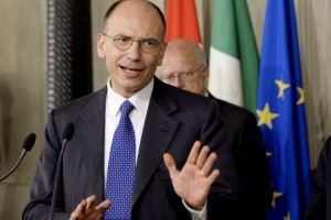 italy prime minister letta