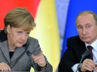 Markel Abaikan Putin, Dukung Pengunjuk Rasa Ukraina