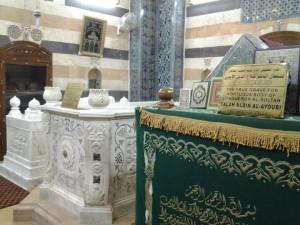 masjid umayah makam salahudin