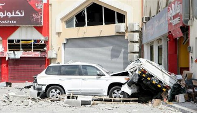 12 killed, 30 injured in Qatar gas tank blast