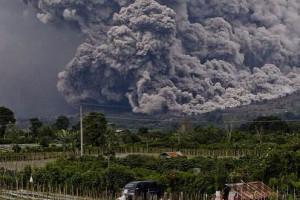 awan panas sinabung (foto:harian andalas)
