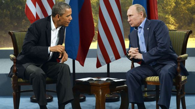 Putin Obama file photo press tv