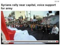 Dukungan Rakyat Suriah di Saidnaya
