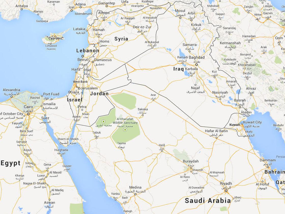 Yordania Saudi