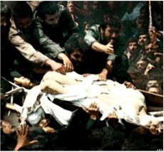 execution- foto yang diklaim sebagai foto imam