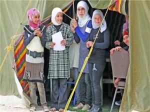 سوء استفاده از هزاران زن آواره سوري
