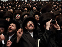 Yahudi Ultra-Orthodok Demo Akbar di New York