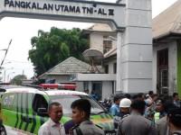 Diduga Korsleting, Gudang Amunisi TNI-AL Meledak Hebat