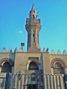 menara masjid amr bin ash (foto:masyaqien)