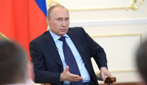 В.Путин встретился с журналистами в резиденции Ново-Огарево