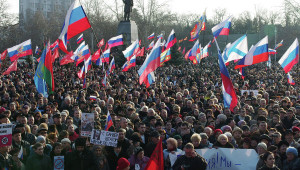 sevastopol demonstration