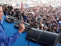 SBY Datang, Massa Demokrat Sibuk Adu Jotos