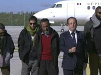 4 Jurnalis Prancis yang Ditawan Pemberontak Suriah Akhirnya Bebas