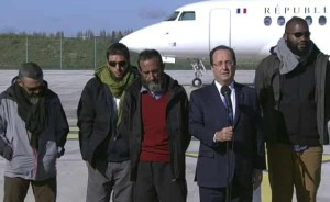 4-french-hostages-returned