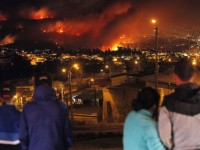 Kebakaran Hebat Landa Chili, 11 Orang Tewas
