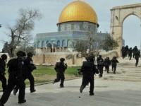 Hari al-Quds, Markas Polisi Israel di Masjid al-Aqsha Dibakar Massa