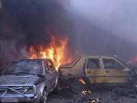 Bom Mobil Guncang Homs, 14 Tewas