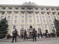 Demonstran Pro-Rusia Masih Kuasai Gedung Pemerintahan Donetsk