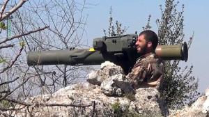 militan suriah - anti tank