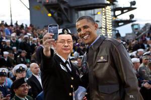 obama-navy-selfie-jang-song-thaek