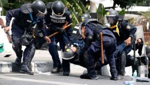 polisi thailand