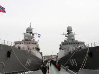 Rusia Tambah 2 Kapal Perang untuk Armada Laut Kaspia