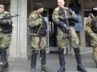 Separatis Ukraina Pro-Rusia Duduki Gedung Stasiun TV