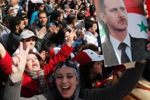 syria pro assad