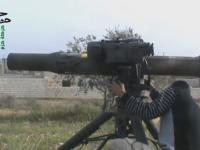 Pemberontak Suriah Gunakan Roket TOW Anti-Tank Bantuan AS