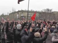 Pro-Rusia Ukraina Timur Tuntut Referendum