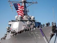 Kapal Perang Canggih AS Masuki Laut Hitam