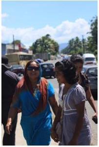 Muslimah di Fiji, foto: Syam Asinar