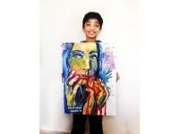 Mohammad, Pelukis Cilik Berbakat dari Gaza