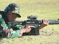 TNI Berjaya dengan Senjata Buatan Pindad