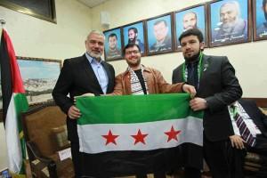 Hamas mendukung pemberontak Suriah