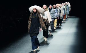 Hijab Indonesia di Tokyo (foto:velame.com)