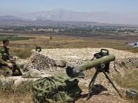 Bela Pemberontak Suriah, Mortir Israel Hadang SAA